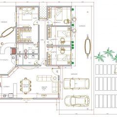 Casa 4 Quartos  –  215.4m²