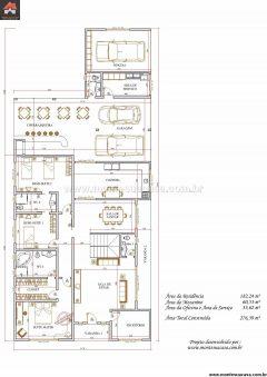 Casa 3 Quartos  –  276.39m²