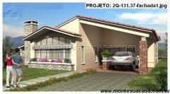 Casa 2 Quartos  –  131.37m²