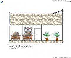Casa 3 Quartos  –  120.01m²