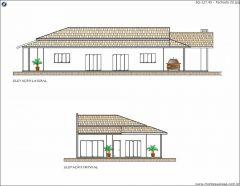 Casa 3 Quartos  –  127.45m²