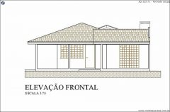 Casa 3 Quartos  –  133.71m²