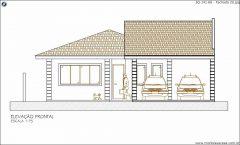 Casa 3 Quartos  –  141.68m²