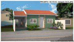 Casa 3 Quartos  –  155.62m²