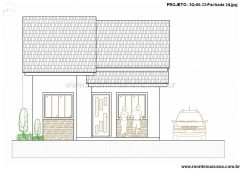 Casa 3 Quartos  –  80.33m²