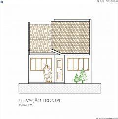 Casa 3 Quartos  –  81.12m²