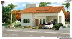 Casa 2 Quartos  –  133.40m²