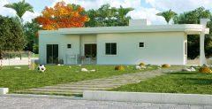 Casa 2 Quartos  –  52.79m²