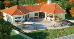 Casa 3 Quartos  –  116.7m²