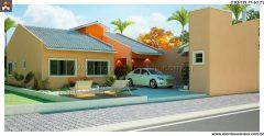 Casa 3 Quartos  –  139.71m²
