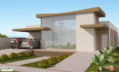 Casa 3 Quartos  –  165.97m²