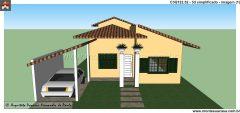 Casa 3 Quartos  –  122.52m²