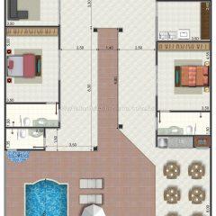 Casa 2 Quartos  –  239.8m²