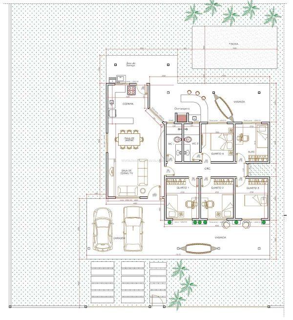 Casa 5 Quartos  –  111.02m²