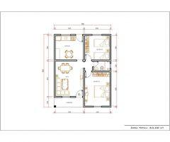 Casa 2 Quartos  –  63m²