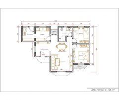 Casa 2 Quartos – 71.05m²