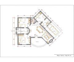 Casa 2 Quartos  –  75.77m²