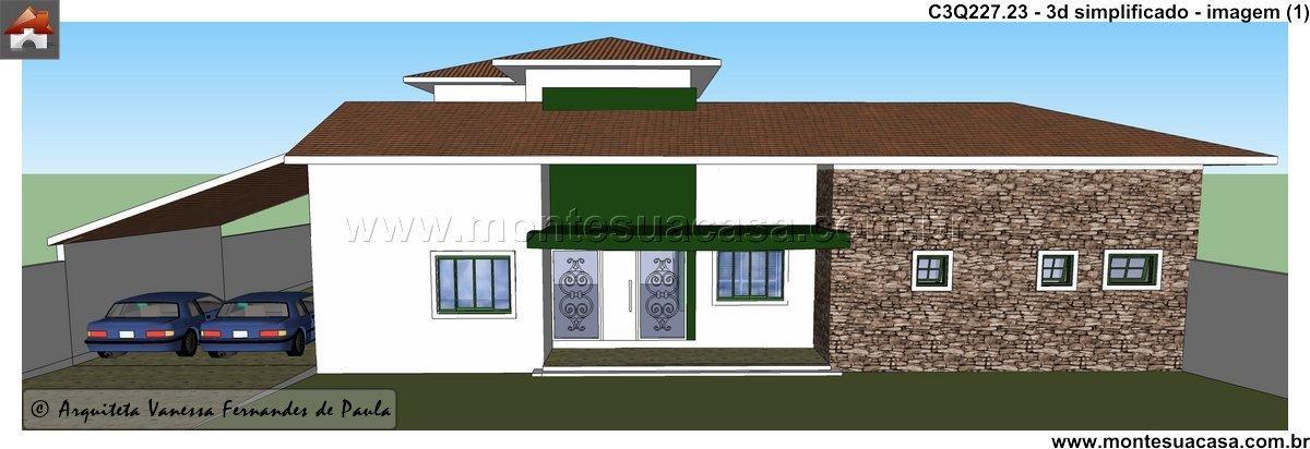 Casa 3 Quartos  -  227.23m²