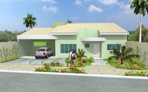 Casa 3 Quartos  -  101.72m²