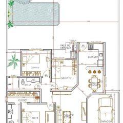 Casa 3 Quartos  –  102m²