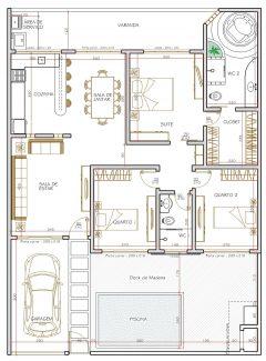 Casa 3 Quartos  –  114.57m²