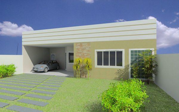 Casa 3 Quartos  -  163.37m²