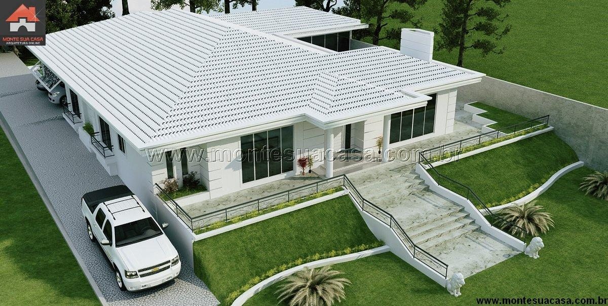 Casa 3 Quartos  -  254.86m²