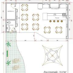 Casa  1 Quarto –  52.27m²