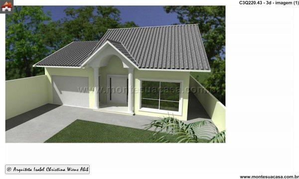 Casa 3 Quartos  -  220.43m²