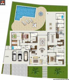 Casa  4 Quartos  –  331.33m²