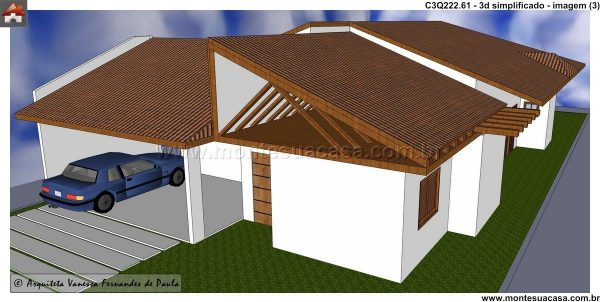 Casa 3 Quartos  -  222.61m²