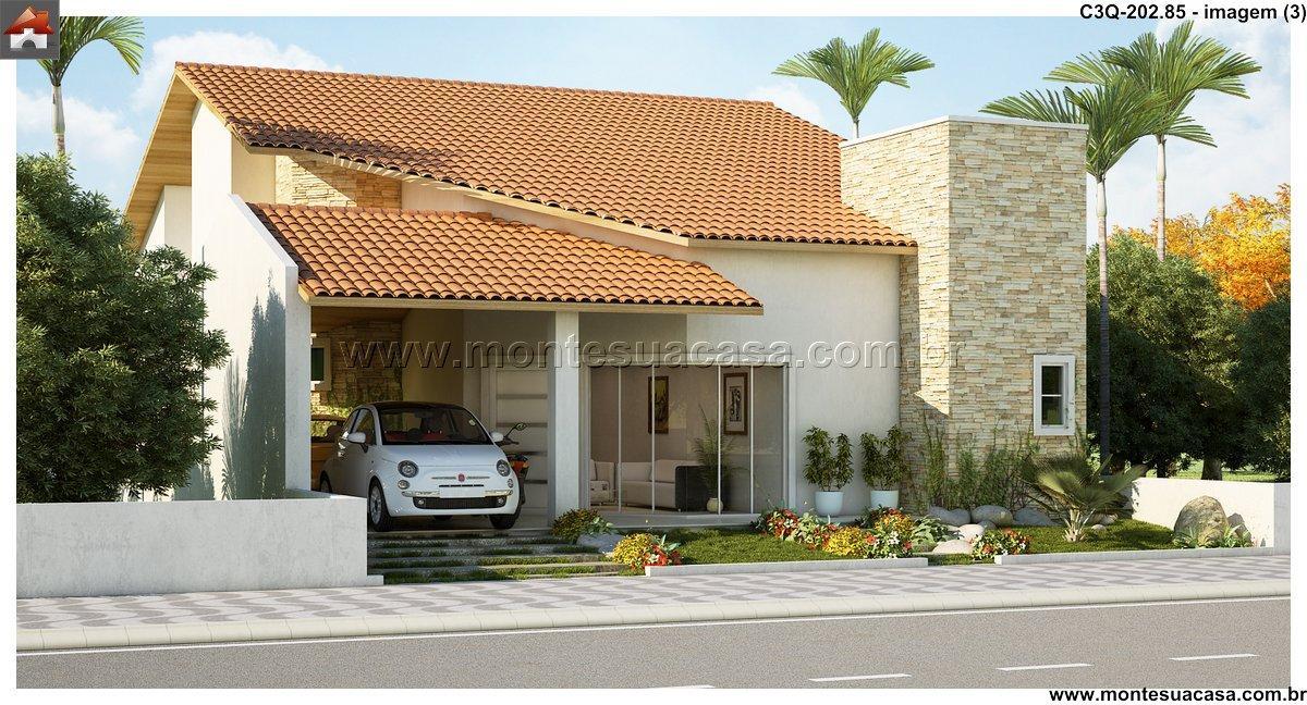 Casa 3 Quartos  -  202.85m²
