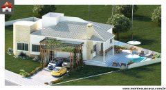 Casa 4 Quartos  –  264.49m²