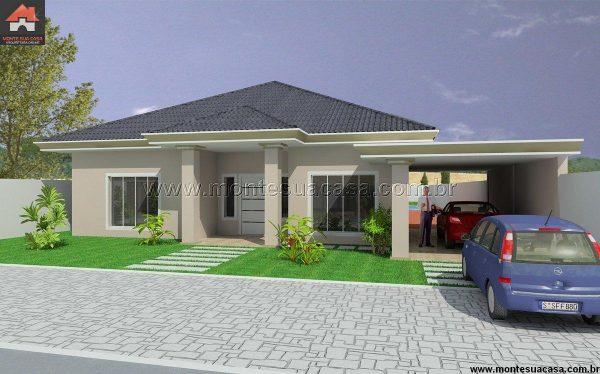 Casa 3 Quartos  -  276.8m²