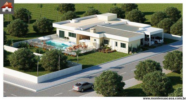 Casa 4 Quartos - 315.43m²