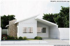 Casa 3 Quartos  –  83.02m²