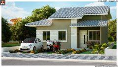 Casa 3 Quartos  –  89.81m²