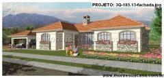 Casa 3 Quartos  –  185.13m²